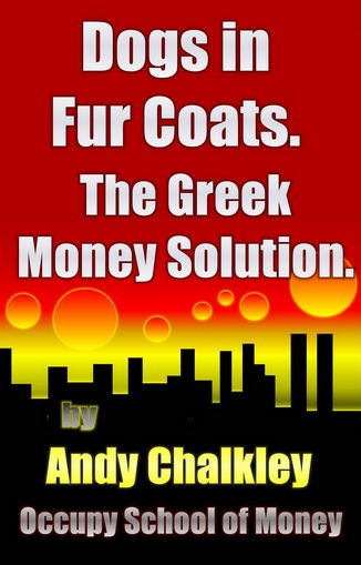 The Greek Money Solution by Andy Chalkley. The problem for Greece is that there is a lack of money that is circulating. The blinkered person sees the problem as a 'lack of money'. The bright person sees it as a 'lack of circulation'. Humans live by exchanging goods and services. A kind ancestor invented the money token to assist the trade between humans. This was a lot easier than carrying around a cow. Humans need money tokens and they have to change hands. If the money tokens do not move, there is no trade. The tokens have to exist and they have to move. In Greece there are 4300 tokens per citizen but they only change hands once each year. Very few Greeks have &euro4300; in a bank account. Most of this money is sitting idle in the bank accounts of people with 'more money than they can spend'. It is not the wealth of the wealthy that is the problem. It is the hoarding of the circulating medium that is preventing economic activity. My calculations are that 92 percent of the money in Greece sits idle in bank accounts and only 8% changes hands with any regularity. A few minor changes to the tax system will turn the economy into an Olympic champion. Allow me to explain.